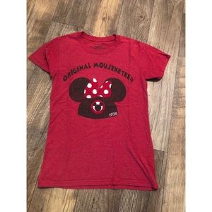Minnie Mouse original mousketeer t-shirt